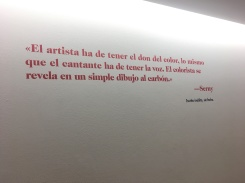 """""""The artist must have the gift of color, the same that a singer must have a voice. The colorist is revealed in a simple carbon drawing."""" -Serny."""